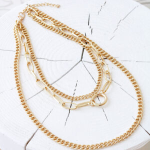 collier multi rangs madeleine or shopinlive.com