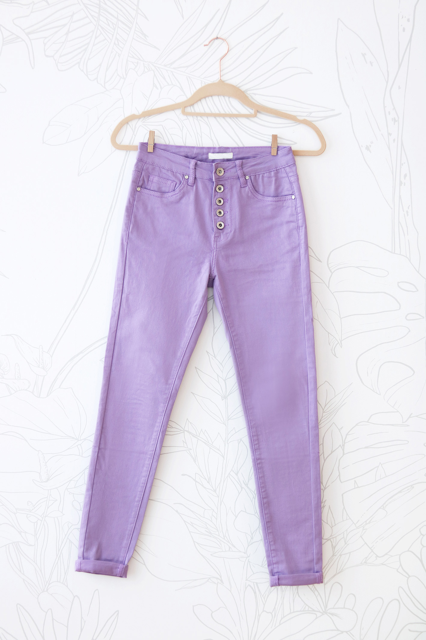 jean lila 5 buttons