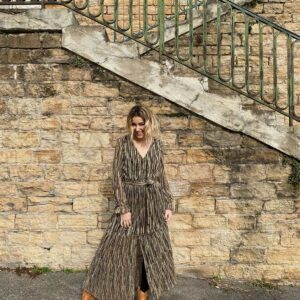 robe longue lurex BEA or shopinlive.com by sophielamodeuse