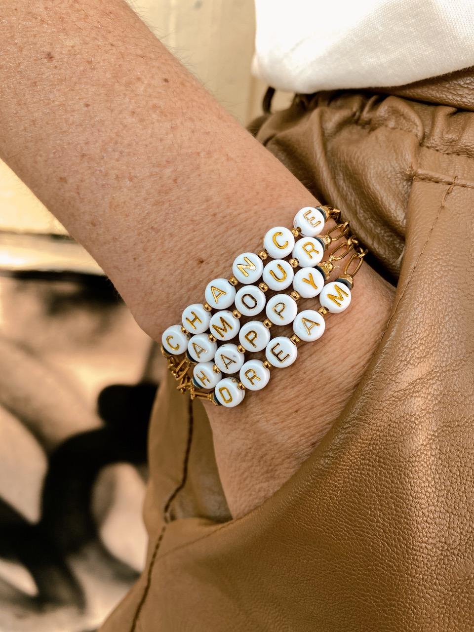 bracelet chance amour happy dream
