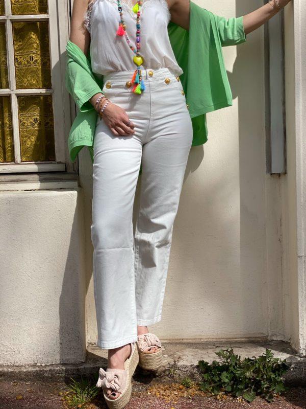 jean blanc dorée